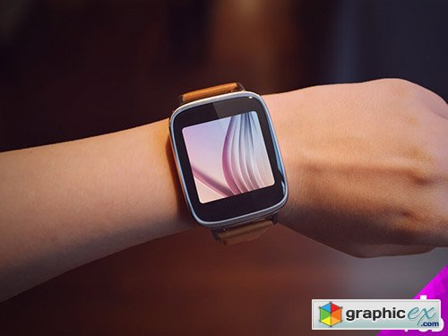 PSD Mock-Up - Asus Zenwatch