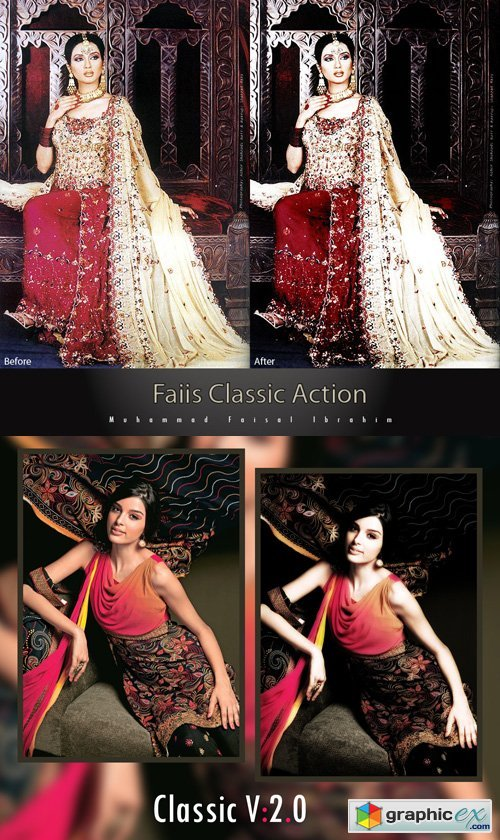 Classic Photoshop Actions
