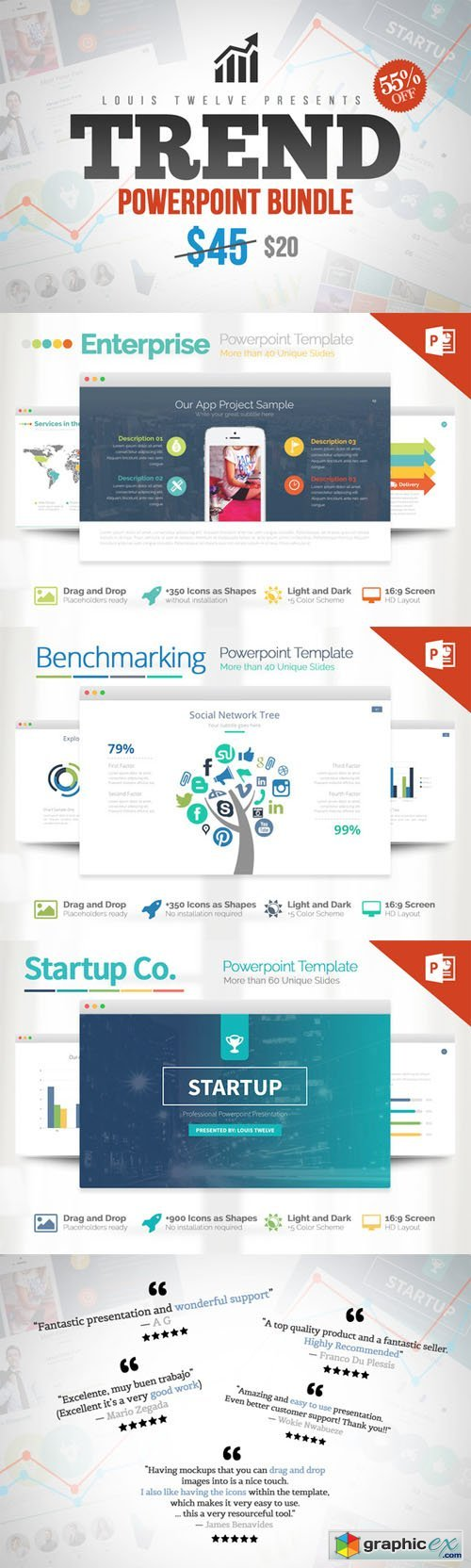 Trend Powerpoint Bundle » Free Download Vector Stock Image Photoshop