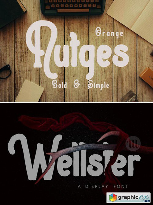 Wellster Handdrawn Typeface 420729