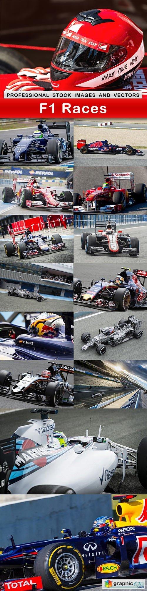 F1 Races - 15 UHQ JPEG