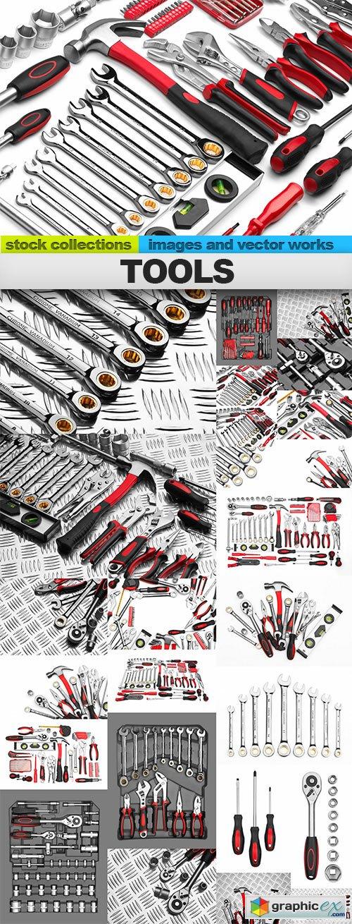 Tools, 25 x UHQ JPEG