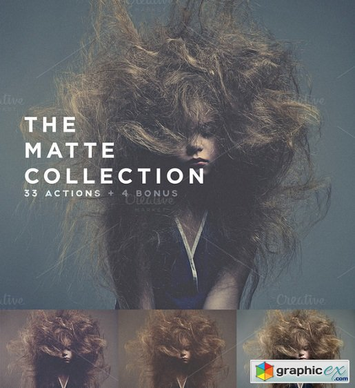 The Matte Collection Photoshop Actionsa