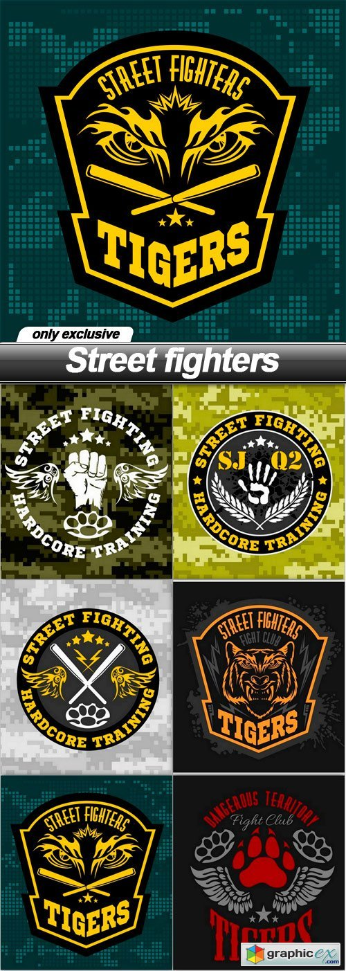 Street fighters - 6 EPS