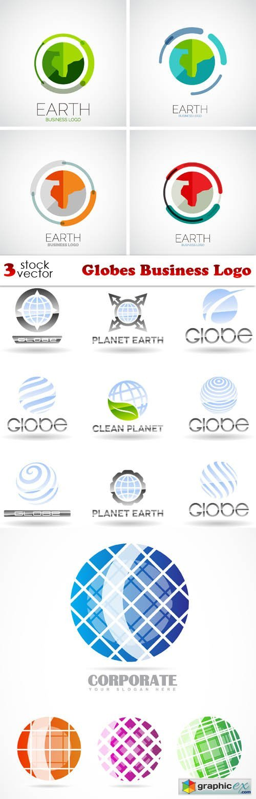 Vectors - Globes Business Logo