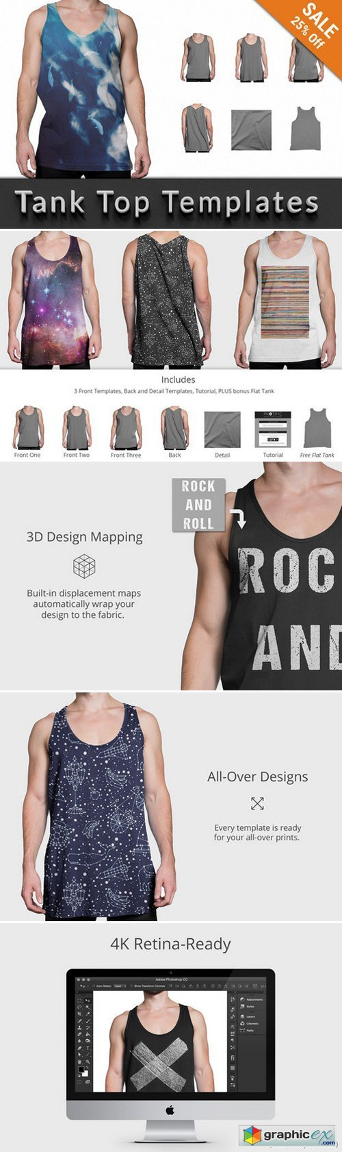 Tank Top - Apparel Mockups