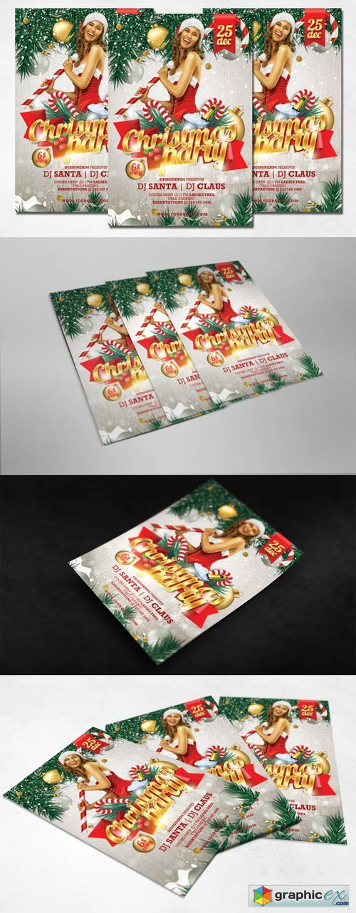 Christmas Party Flyer 432700