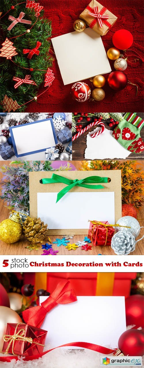 Photos - Christmas Decoration with Cards