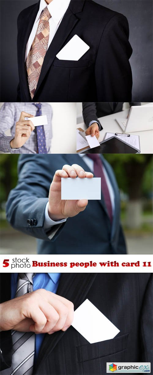 Photos - Business people with card 11