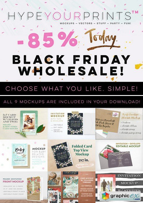 Get WYW! Black Friday Wholesale!