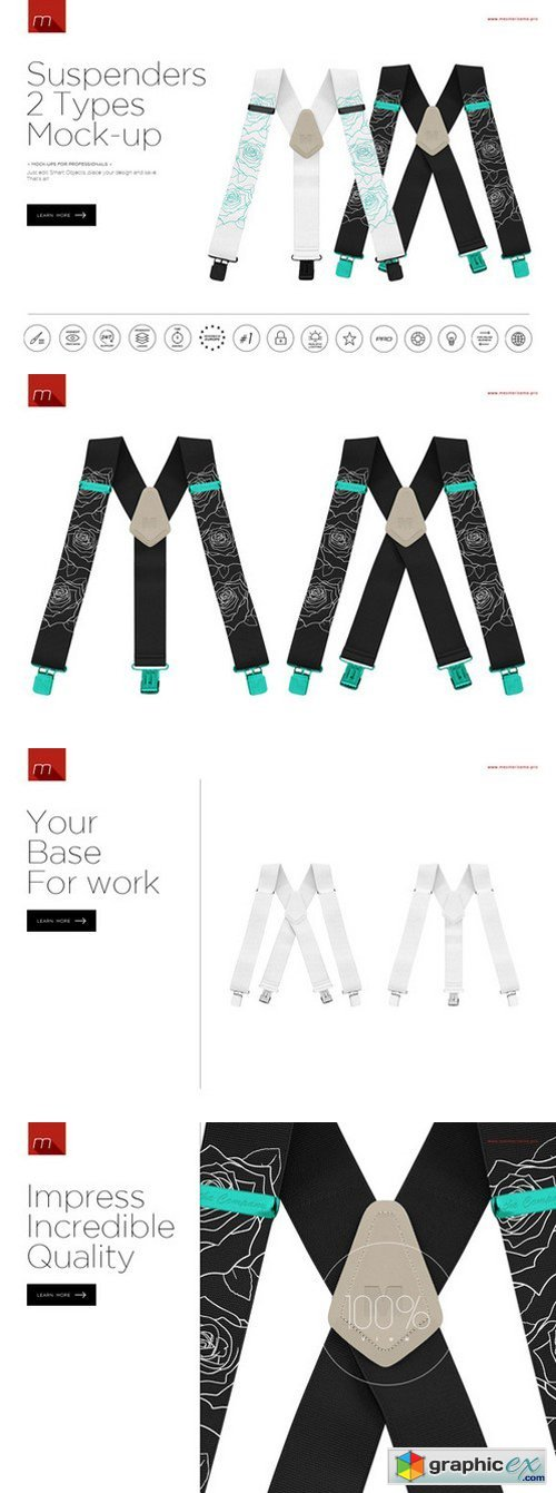 Suspenders Mock-up