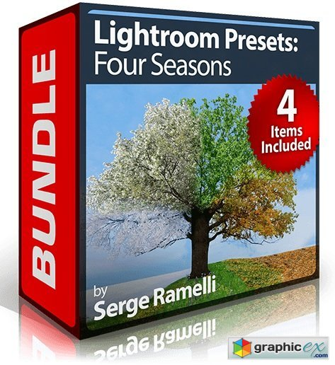 PhotoSerge - Lightroom Presets: Four Seasons Bundle