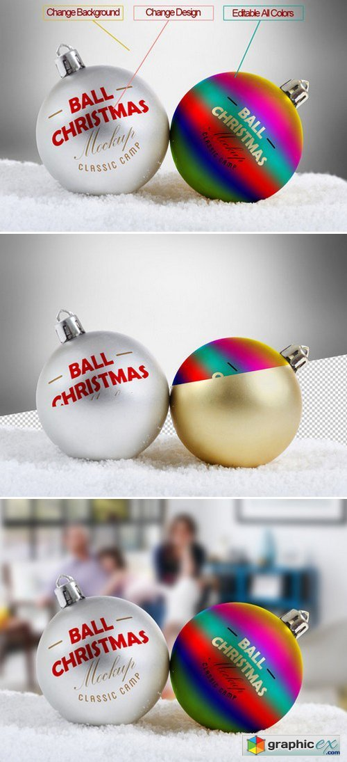 Christmas Ball Mock-Up 453091