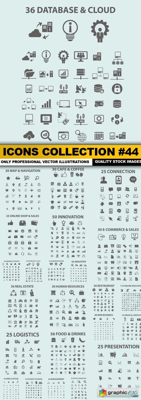 Icons Collection #44 - 23 Vector