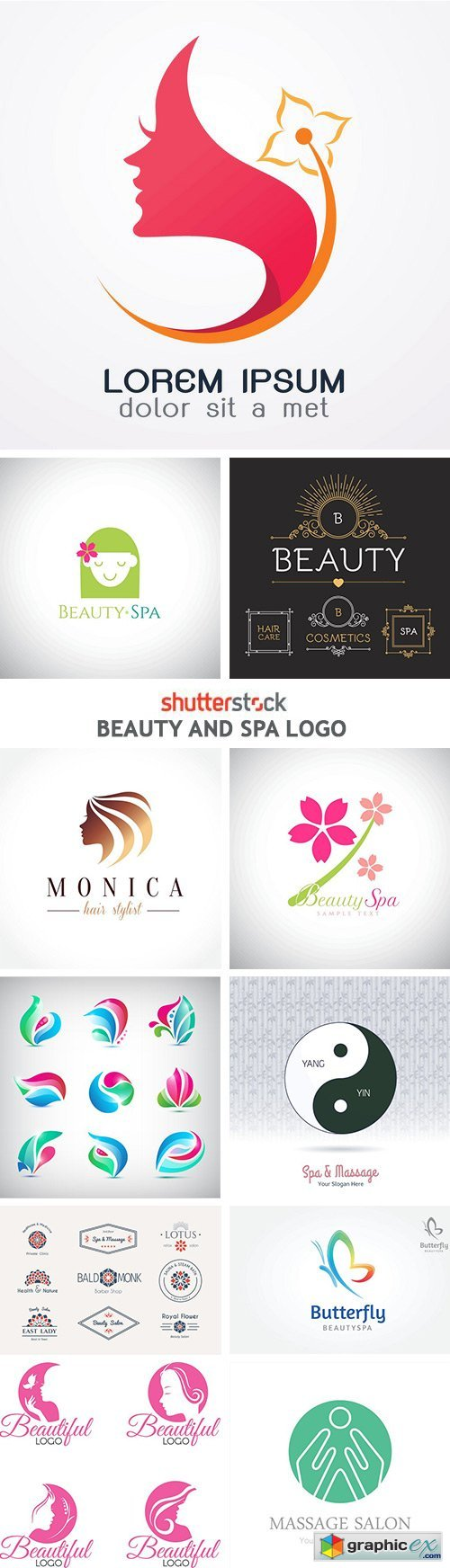 Beauty And Spa Logo - 25xEPS