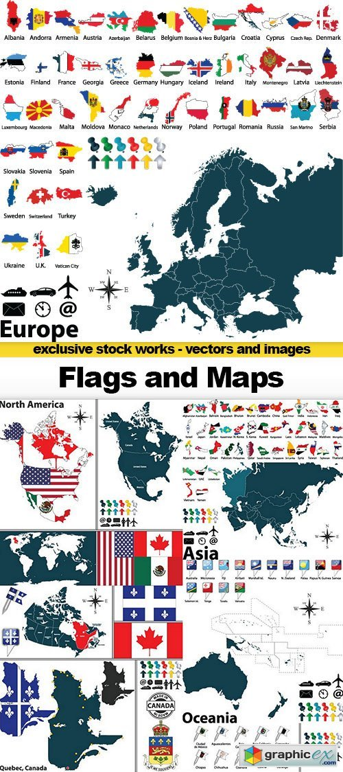 Icon and logo free download vector stock image photoshop icon flags and maps 20x eps gumiabroncs Images
