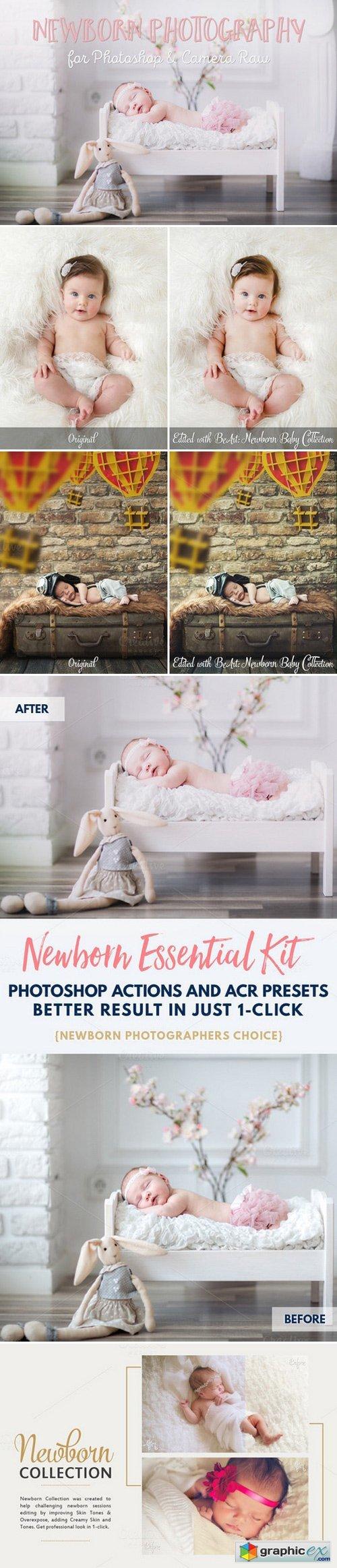 Essential newborn photoshop actions