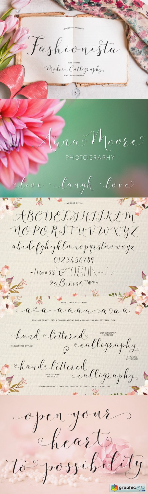 Fashionista Modern Calligraphy FONT