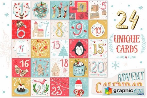 image regarding Printable Christmas Calendar named CM - PRINTABLE Xmas Arrival Calendar 449346 » Cost-free