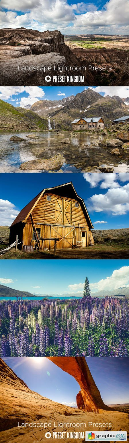 Landscape Lightroom Presets 459659