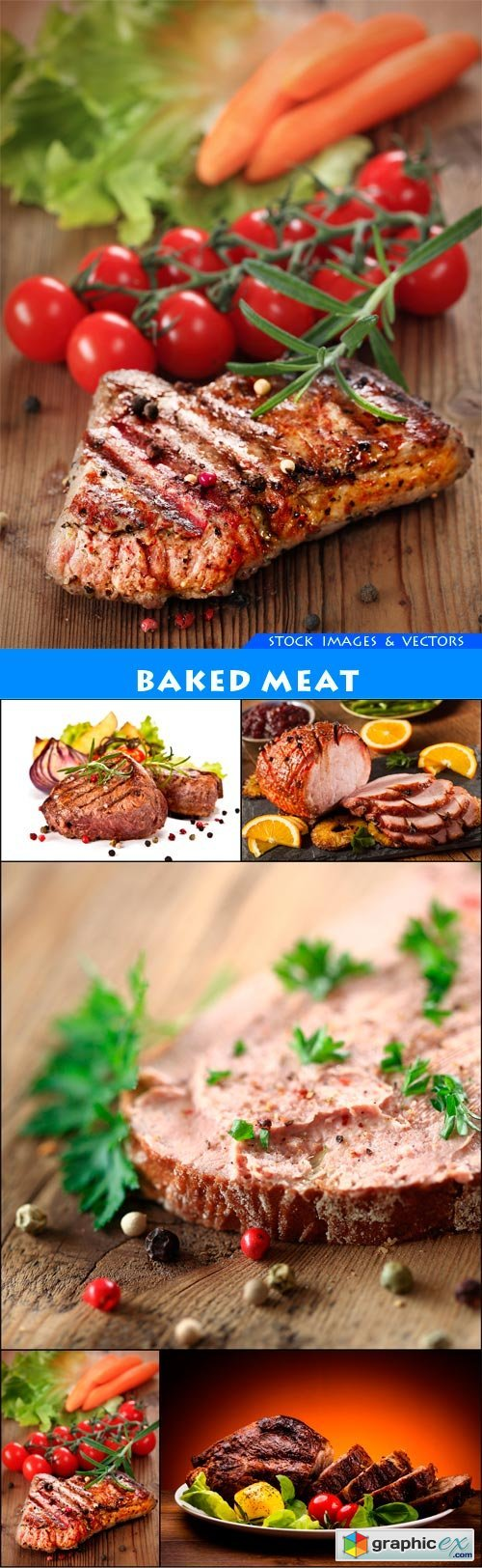 Baked meat 5X JPEG