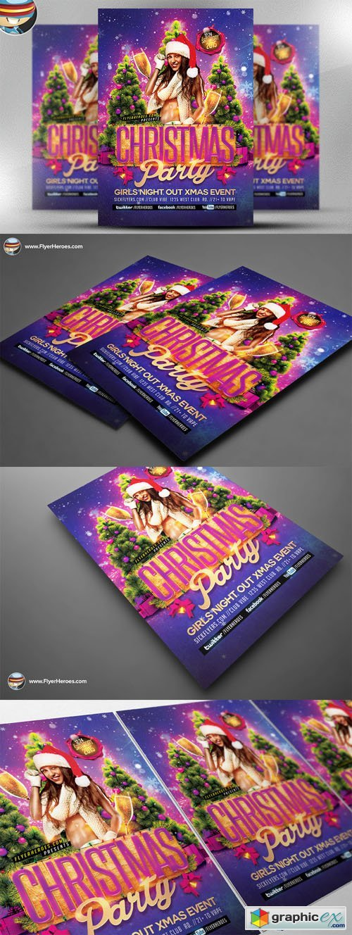 Christmas Flyer Template 467558