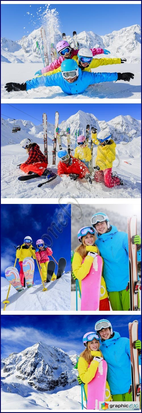 Winter holidays - Stock photo