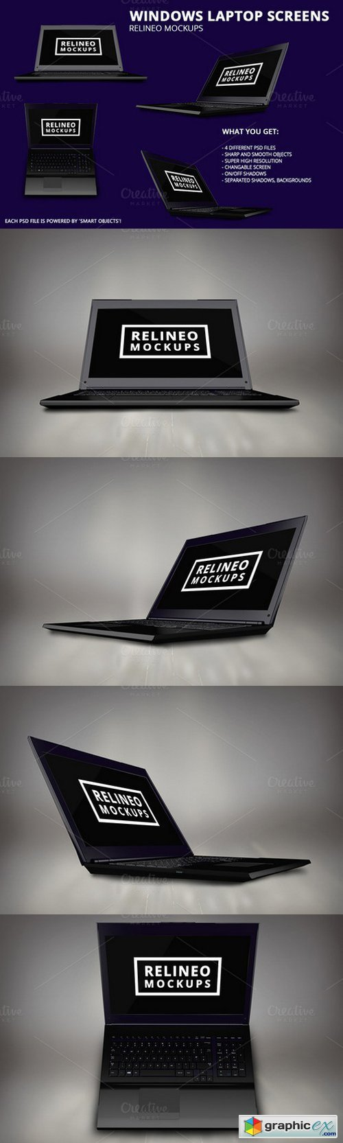 Relineo - Windows Laptop Pack #1