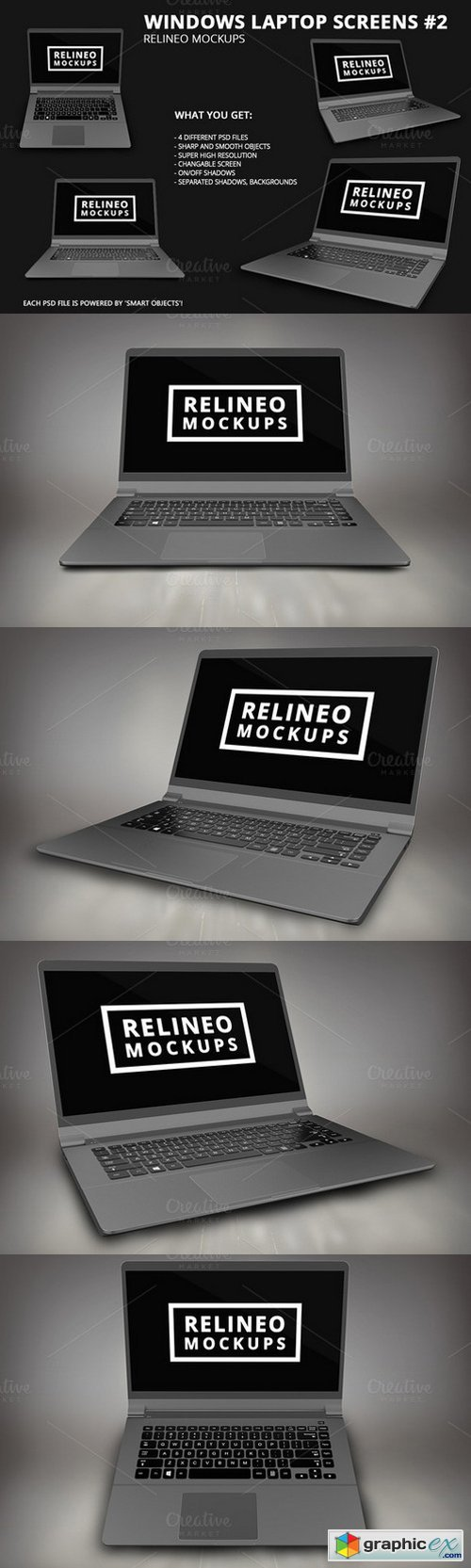 Relineo - Windows Laptop Pack #2