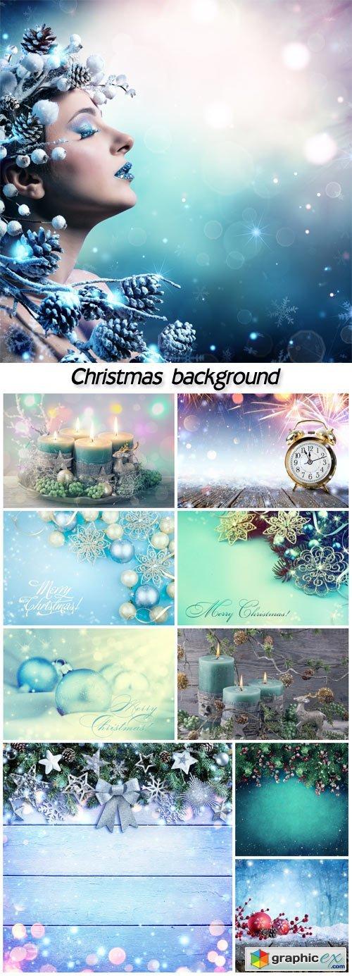 Beautiful shining Christmas backgrounds