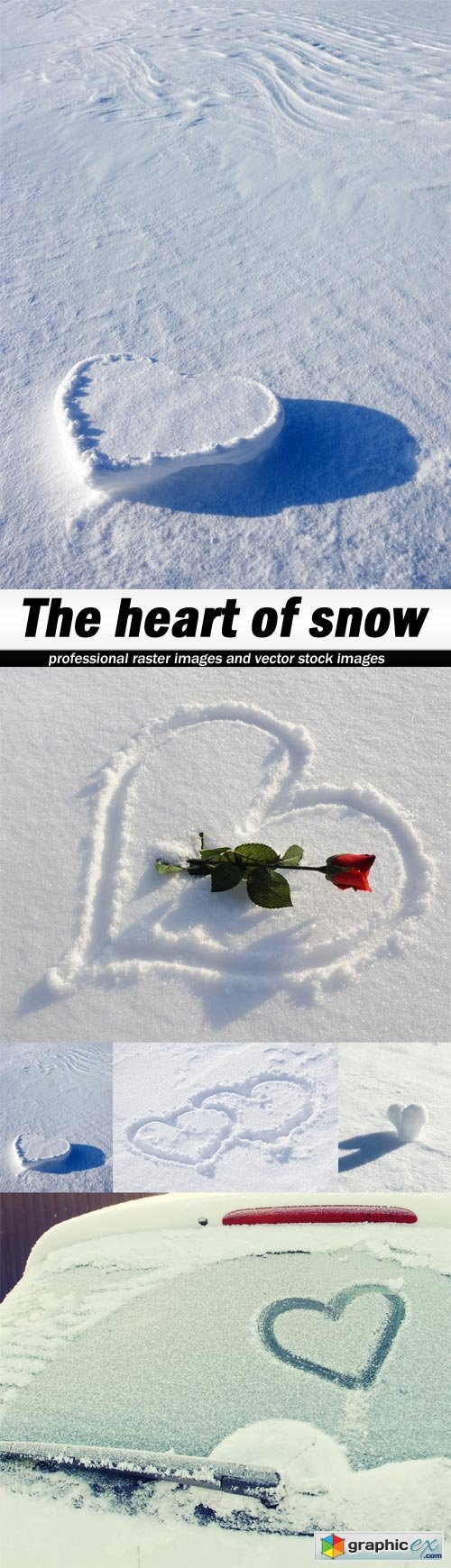 The heart of snow