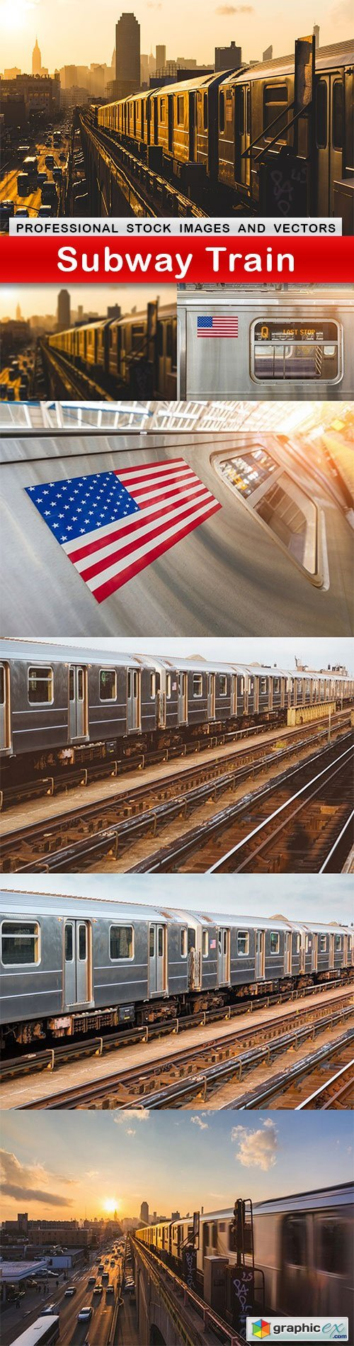 Subway Train - 7 UHQ JPEG