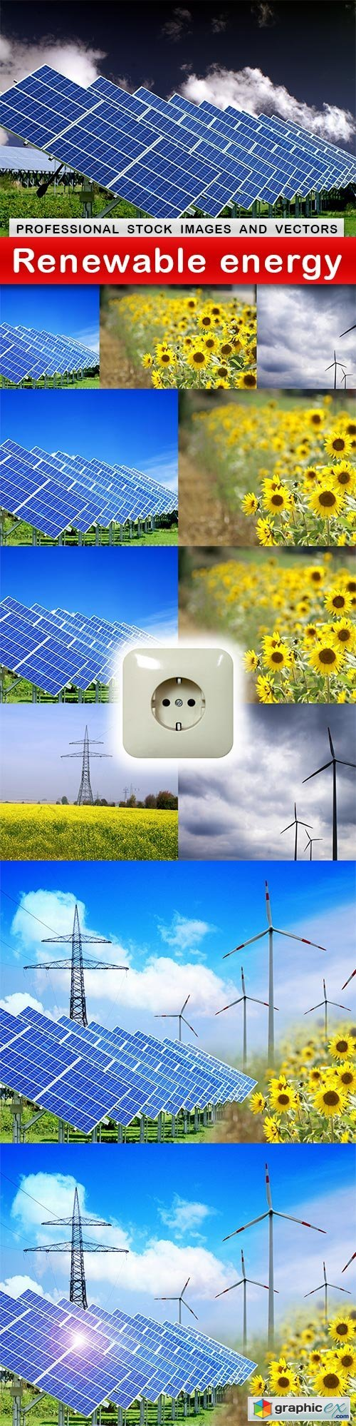 Renewable energy - 6 UHQ JPEG