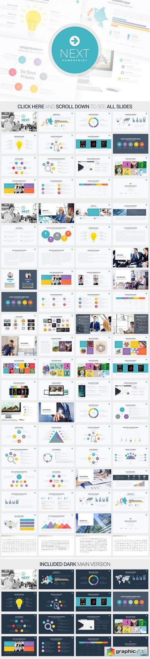 Next Powerpoint Template
