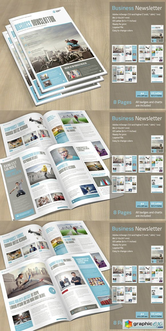Business Newsletter 454930
