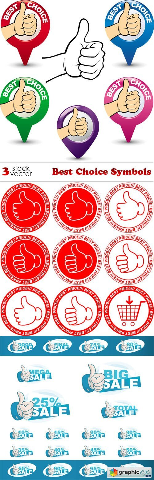 Vectors - Best Choice Symbols