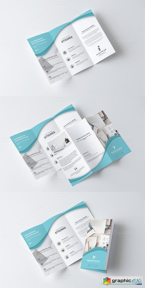 Multipurpose Business TriFold 383531