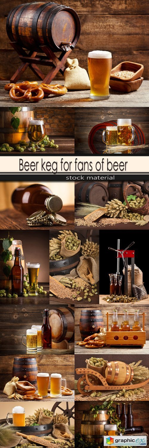Beer keg for fans of beer