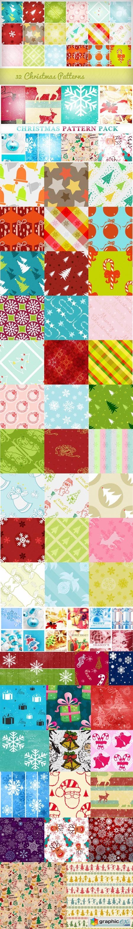 Christmas Pattern Huge Pack