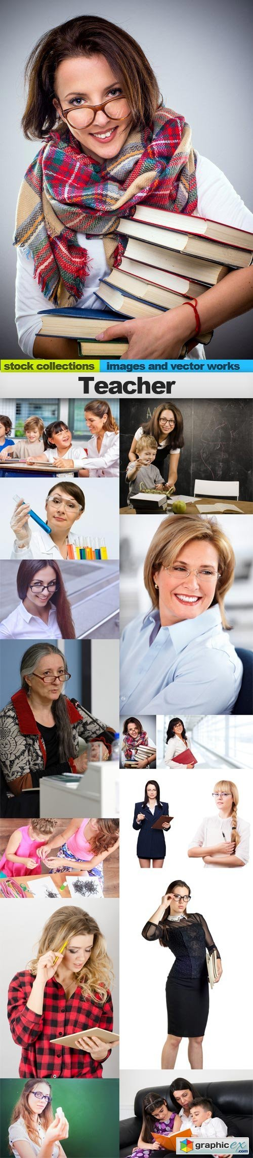 Teacher, 15 x UHQ JPEG