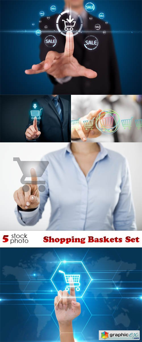 Photos - Shopping Baskets Set