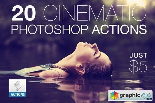Cinematic Photoshop Actions Pack