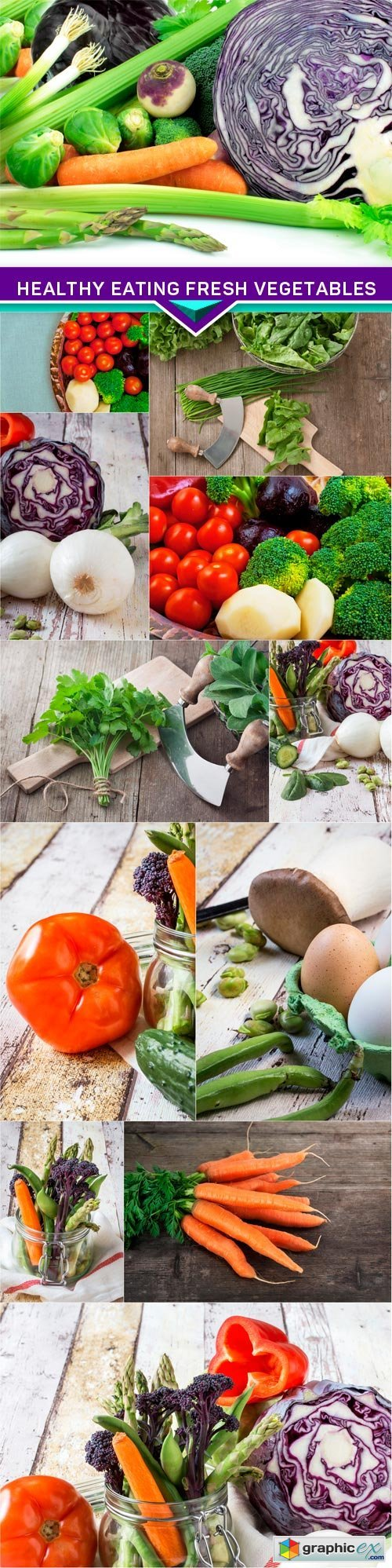 Healthy eating fresh vegetables 12x JPEG