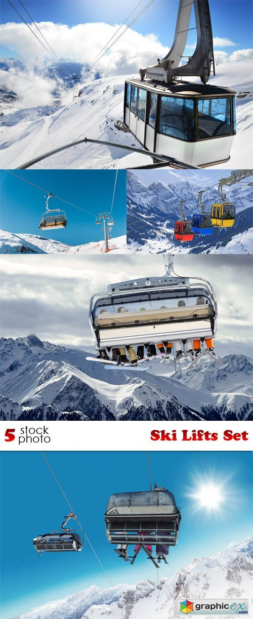 Photos - Ski Lifts Set