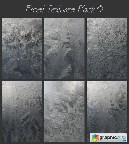 Frost Textures Pack 5