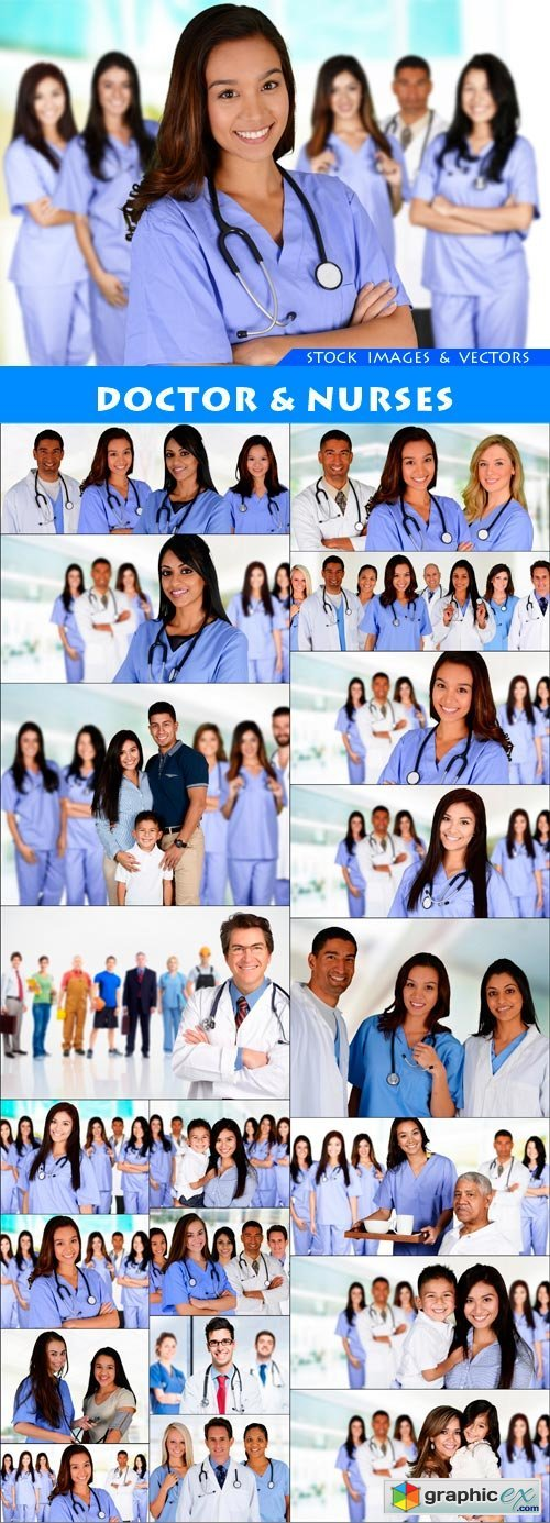 Doctor & Nurses 20X JPEG
