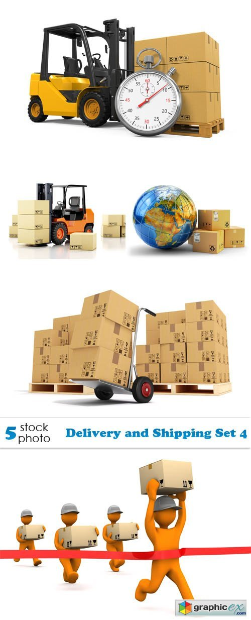Photos - Delivery and Shipping Set 4