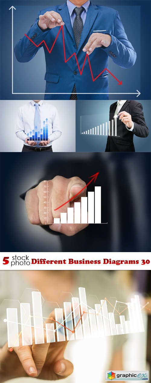 Photos - Different Business Diagrams 30