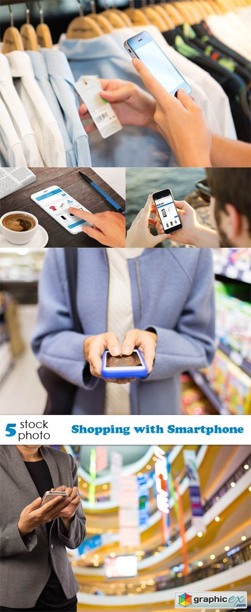 Photos - Shopping with Smartphone