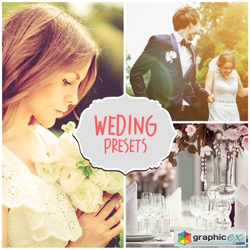 80 Wedding Lightroom Presets Pro